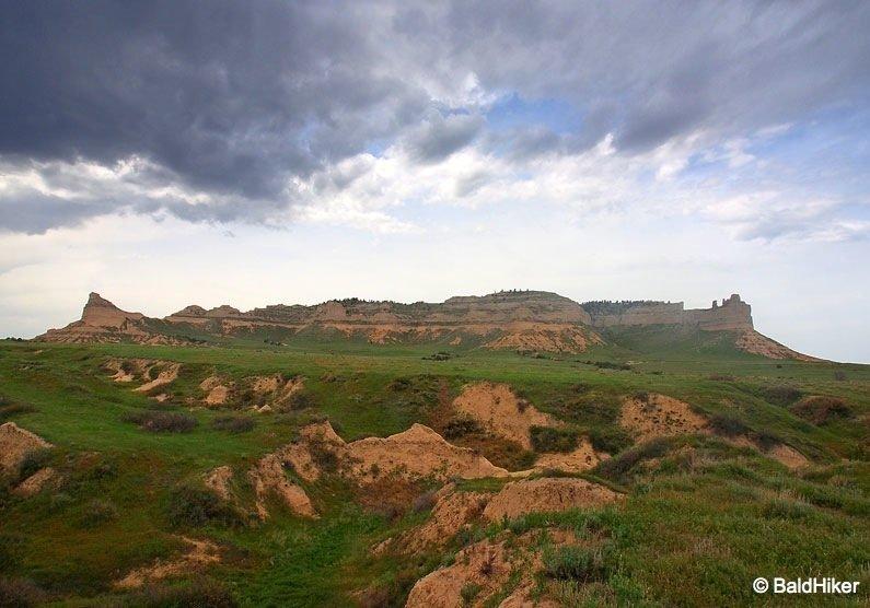 Nebraska: Scotts Bluff National Monument 1