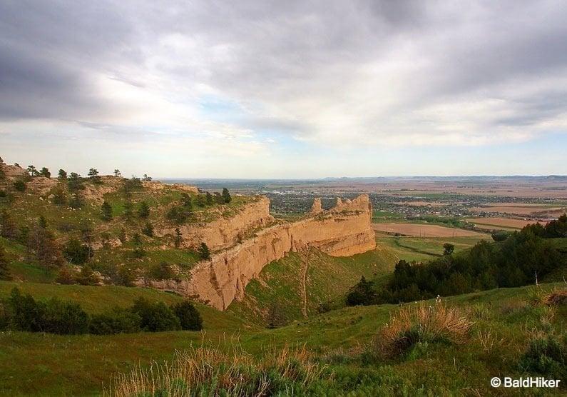 Nebraska: Scotts Bluff National Monument