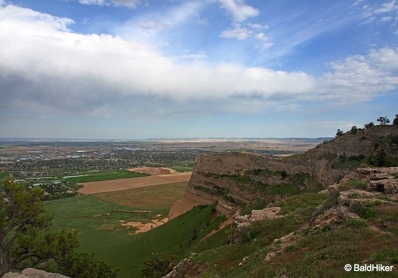 P5180671B Nebraska: Scotts Bluff National Monument