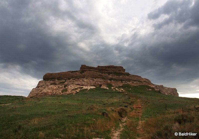 P5190712 Nebraska: Courthouse and Jail Rocks