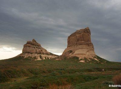 Nebraska: Courthouse and Jail Rocks