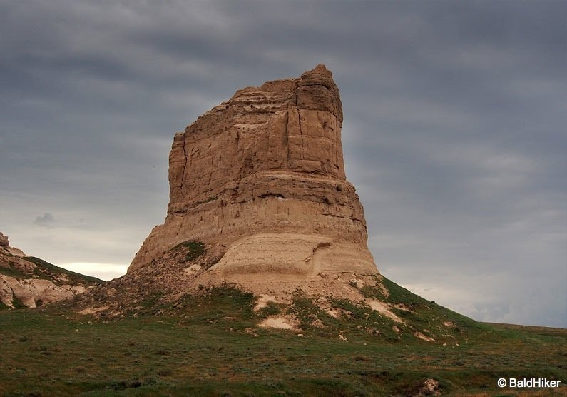 Nebraska: Courthouse and Jail Rocks