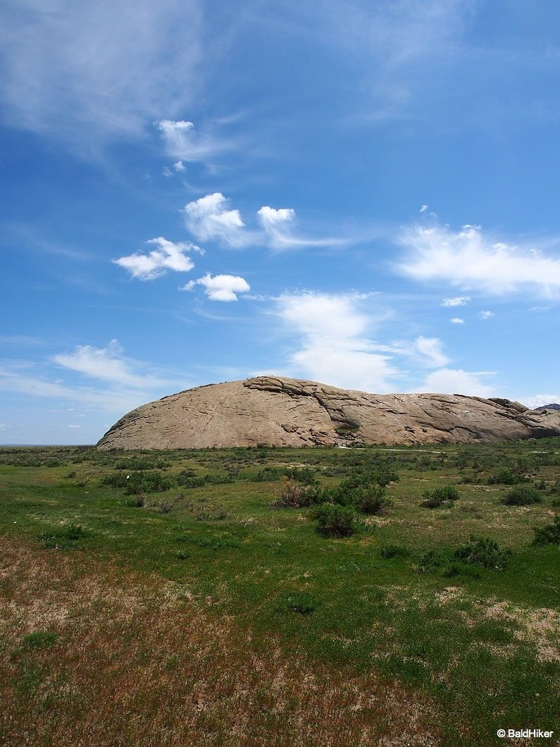 view of Independence Rock