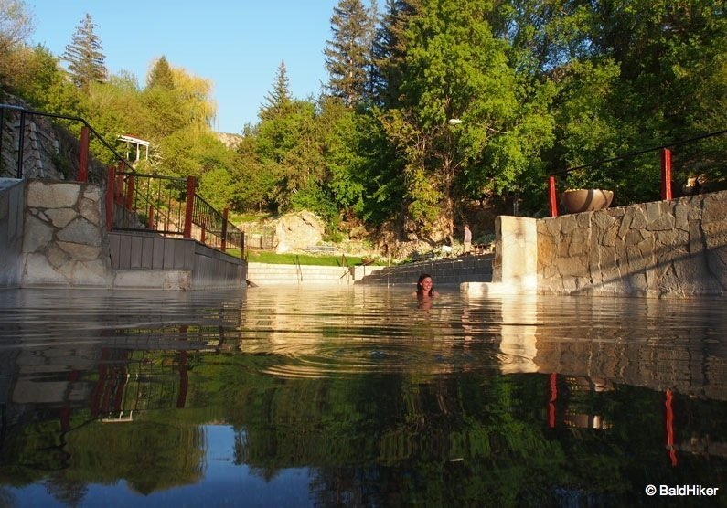 Idaho: The natural heated pools of Lava Hot Springs