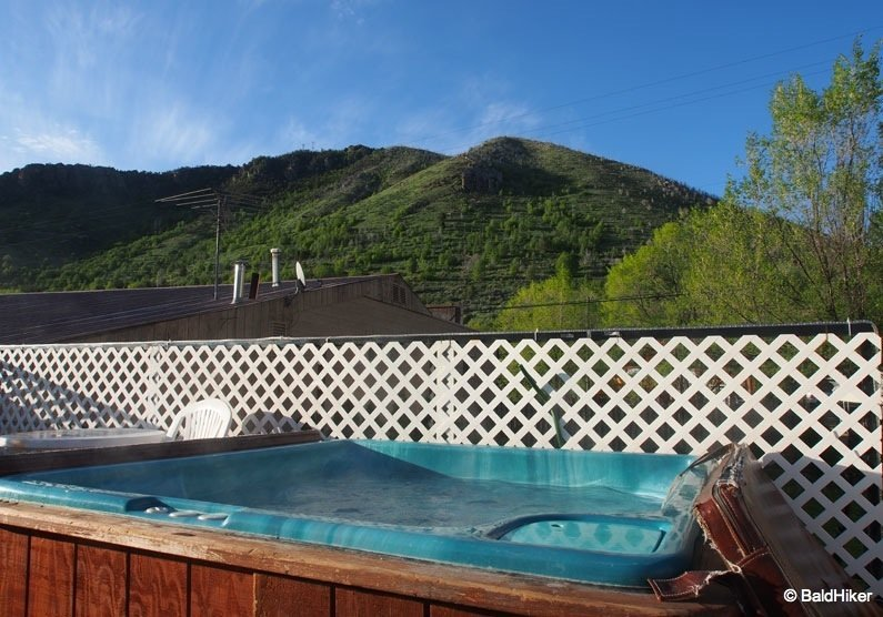 A stay at Riverside Hot Springs Inn, Idaho