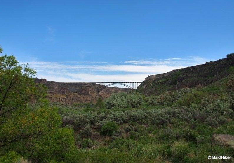 Idaho: Perrine Bridge and Perrine Coulee Falls