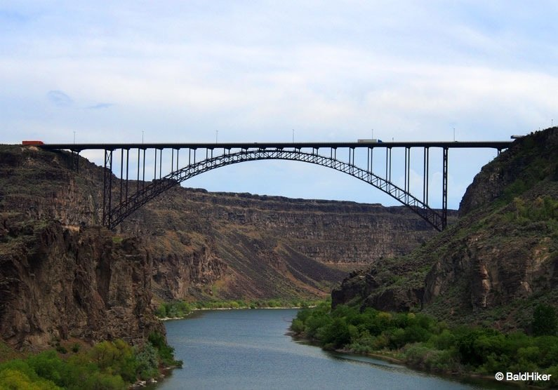 P5211475 Idaho: Perrine Bridge and Perrine Coulee Falls