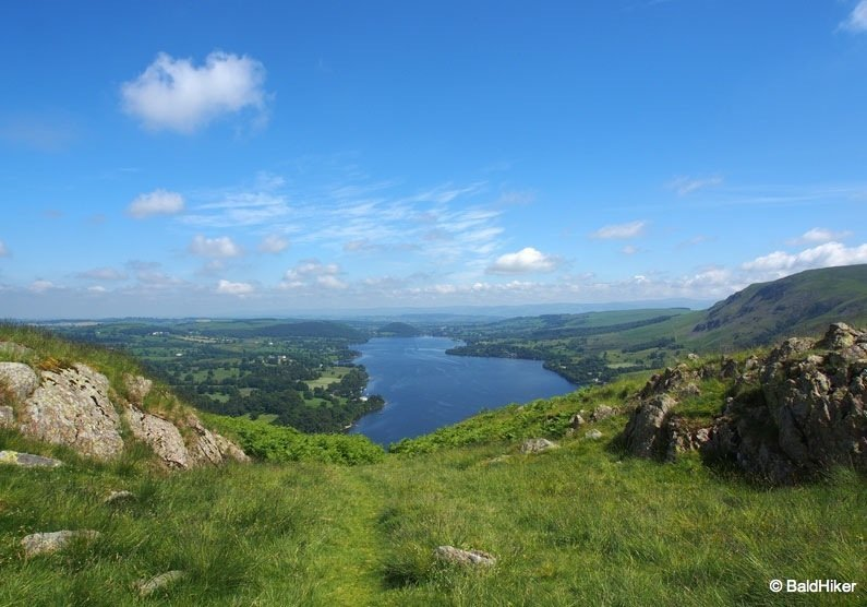 Hallin Fell: walk to views over Ullswater