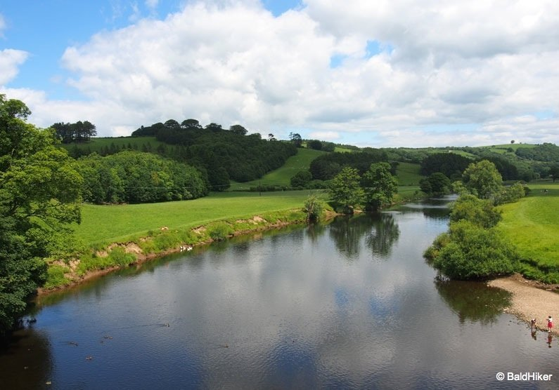 Wanders and views at the Crook O'Lune