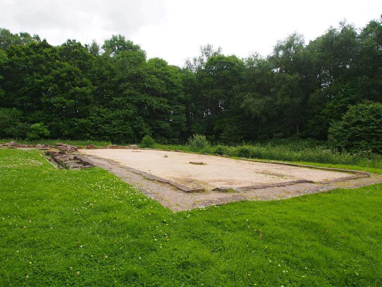 foundations of old buildings