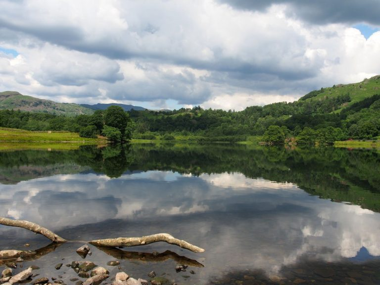 A walk around Rydal Water – reflections and nature
