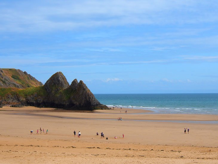 Swansea – Step down to Three Cliffs Bay