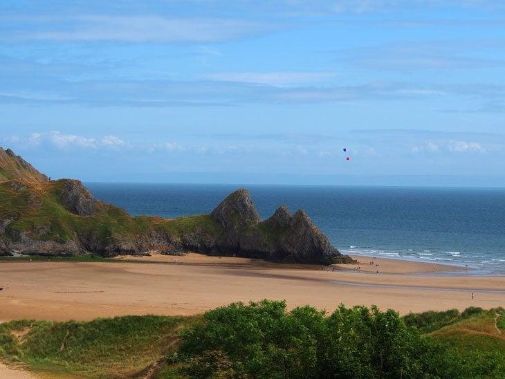 Swansea – Step down to Three Cliffs Bay