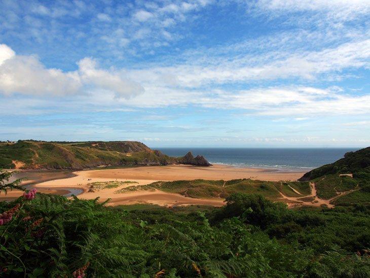 P7300196_02 Swansea – Step down to Three Cliffs Bay