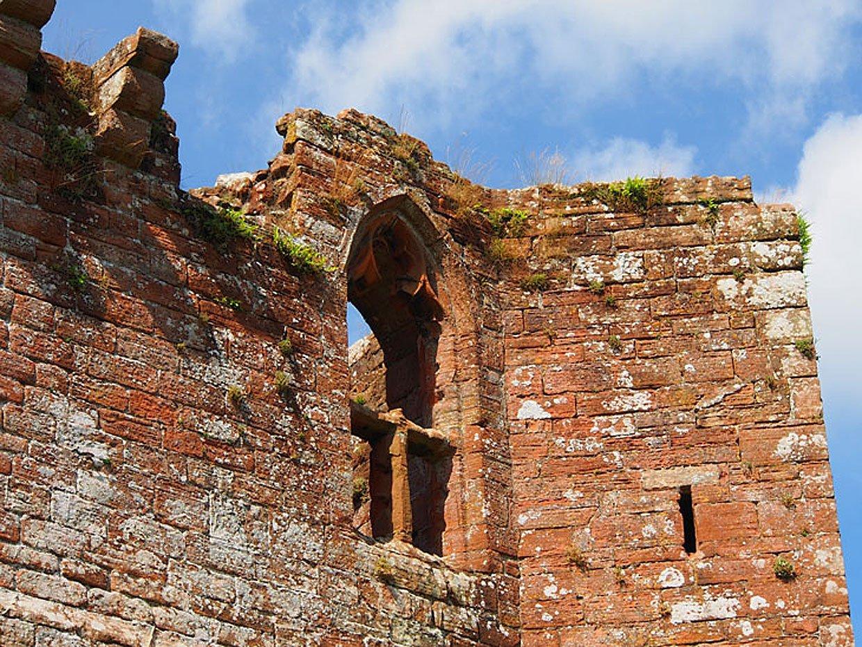 Brougham Castle: the picturesque ruin