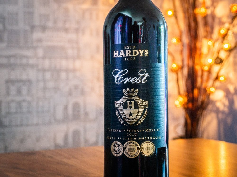 P8240022 Hardys Crest Cabernet Shiraz Merlot 2017