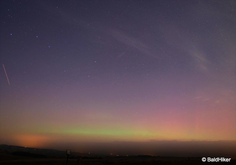 P9120240-aurora Low level Northern Lights – Cumbria, Sep 14