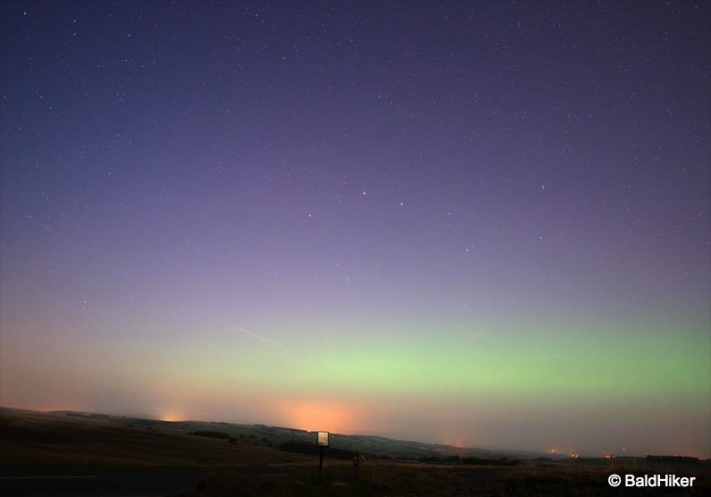 P9120261-aurora Low level Northern Lights – Cumbria, Sep 14