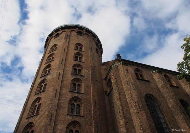 Rundetarn copenhagen up to the top