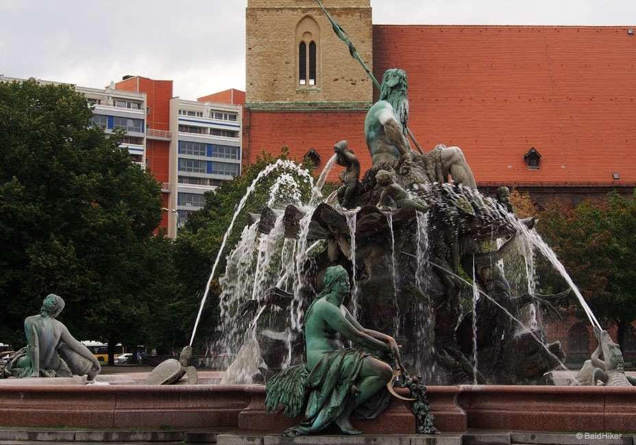 The Neptune Fountain of Berlin