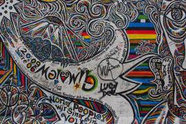 Detail of Gamil Gimajew's mural: Ohne Titel