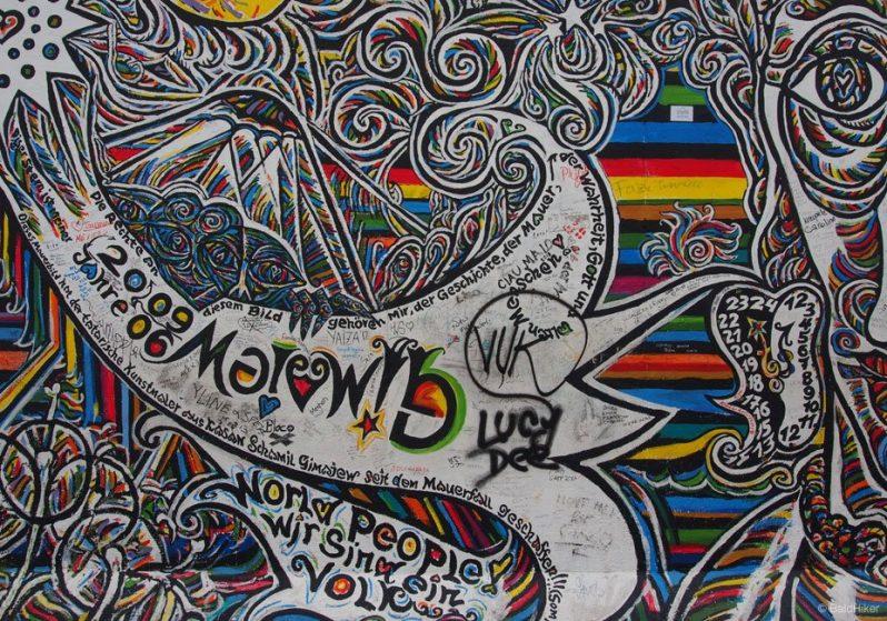 Gamil Gimajew's mural: Ohne Titel
