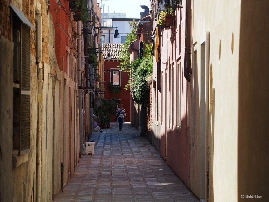 Street scenes of Giudecca, Venice