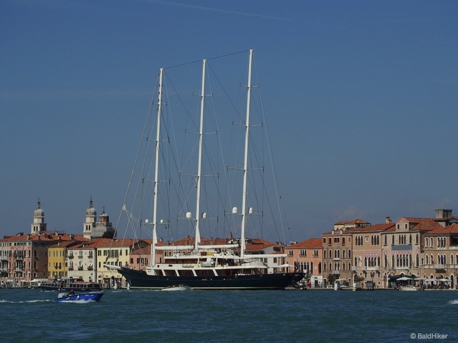 Venice: Looking out from Giudecca