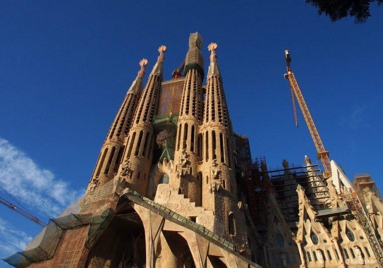 Barcelona: Wondering at The Sagrada Família