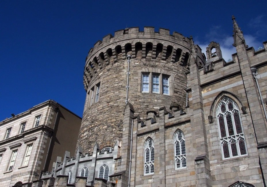 Dublin Castle: exploring the grounds