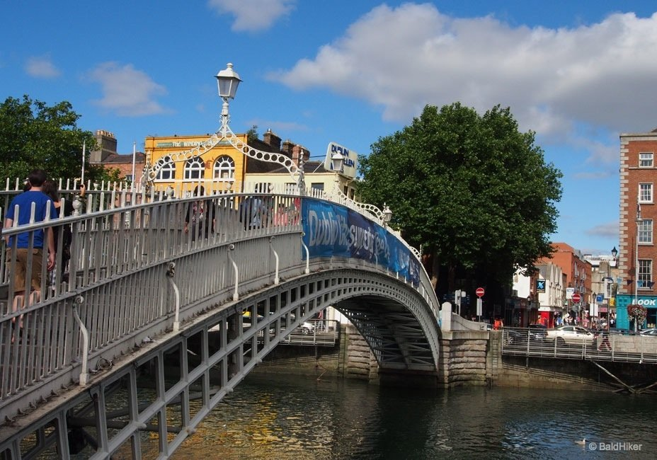 P9220168_dublin_hapenny Dublin: Ha'penny Bridge over The Liffey
