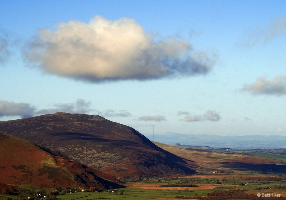 Hovering cloud over Carrock Fell