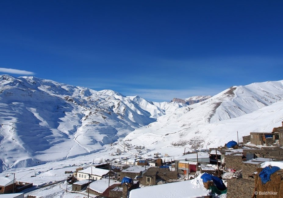 Drive up high to the remote village of Xinaliq – Azerbaijan