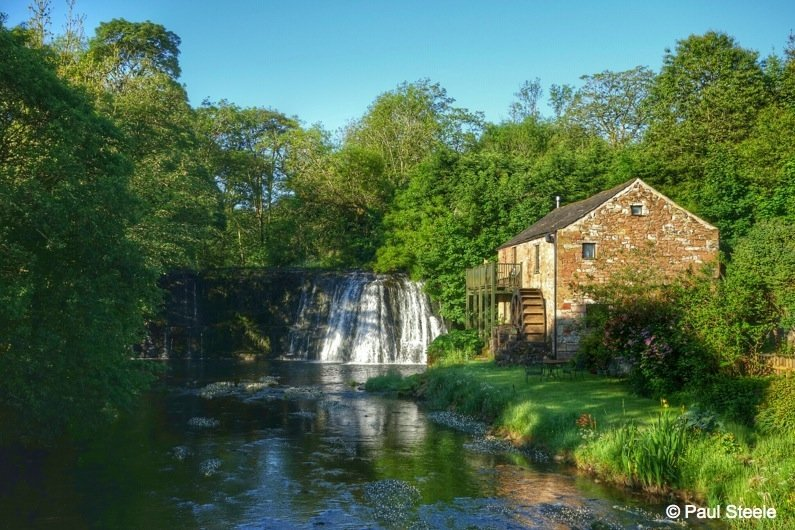 A sunny day at Rutter Force, Eden Valley