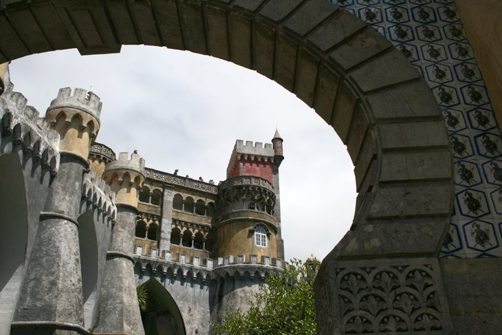 insude Palace of the Pena