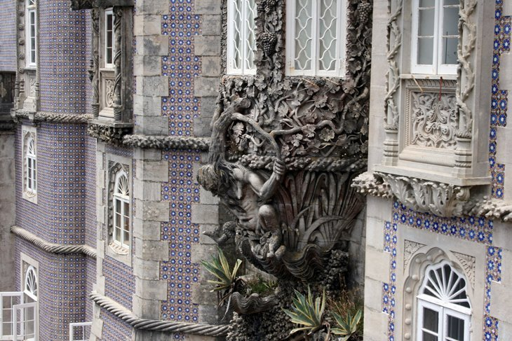 Palace-of-the-Pena-tilework Portugal: Sintra – A Fairy Tale Escape