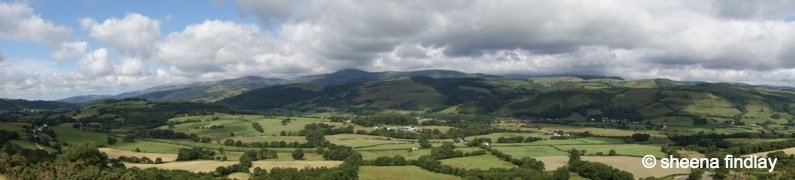 Glyndŵr's Way, one of the quietest National Trails