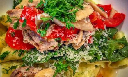 Pasta Verde (Recipe)
