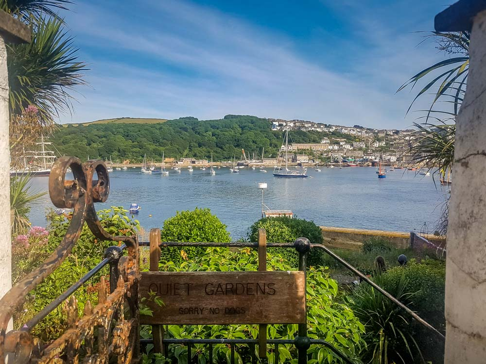 Peace-Garden Fowey, a Whistle Stop Tour - a Real Cornish Joy