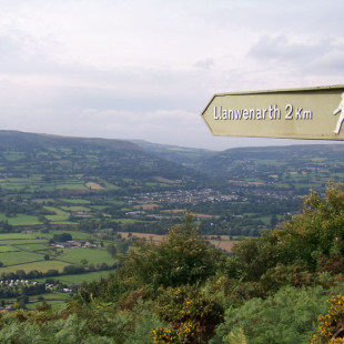 Your Britain – A View From Sugar Loaf Mountain by Huw Davies