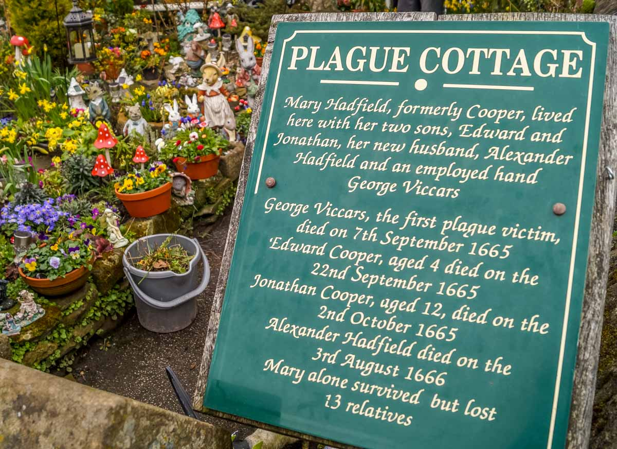 Plague-cottage Eyam, The Peak District's Plague Village