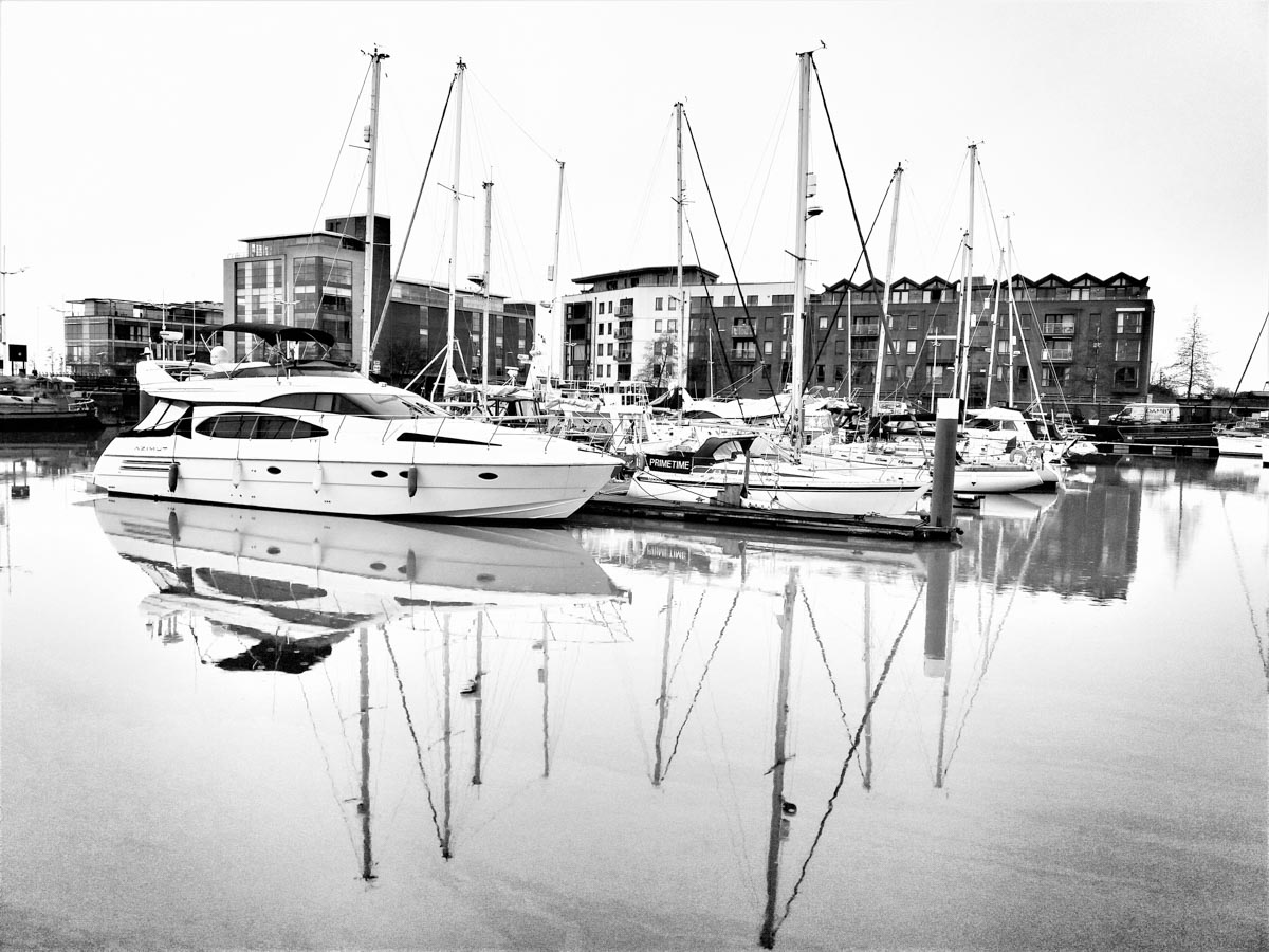 Pleasure-boats_ Hull Marina and A Walk Through the Cobbled Streets