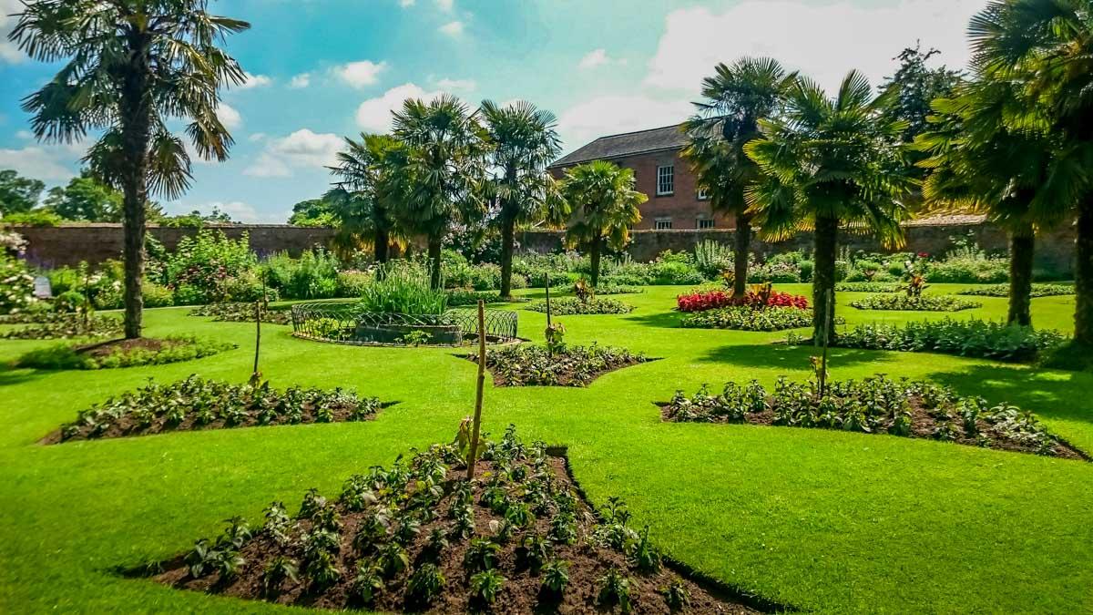 Pleasure-gardens-in-summer_ Calke Abbey Ancient Parkland Walks Through the Seasons