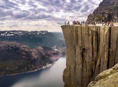 Norway - Hiking to Preikestolen (Pulpit Rock)