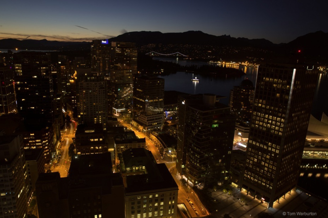 Vancouver from above: rooftops and cityscapes