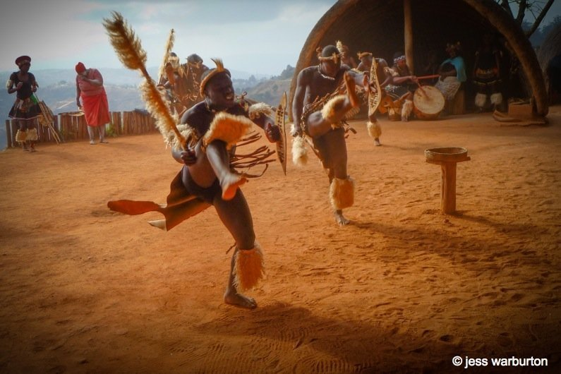 South Africa – A Zulu Village Dance