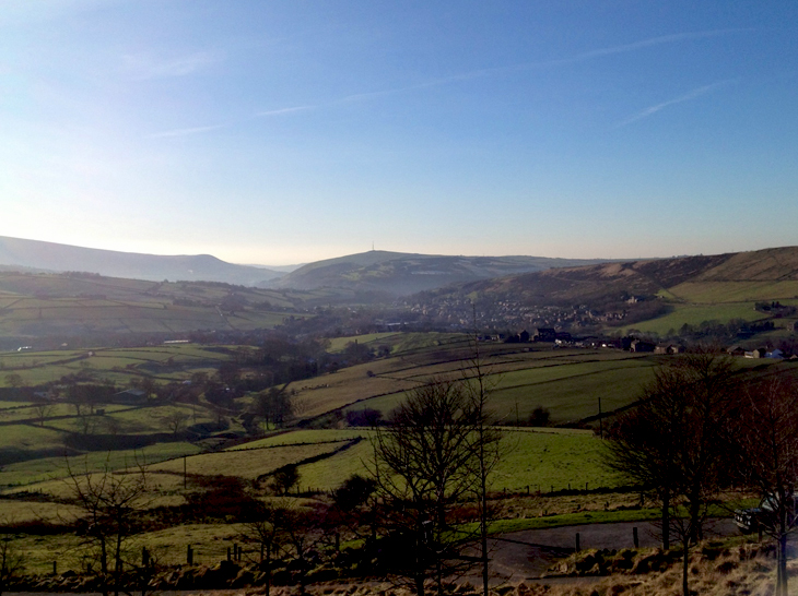 Saddleworthmorning A Frosty Drive Up North...
