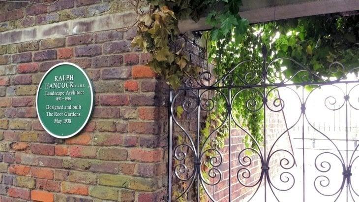 The secret roof gardens – Kensington