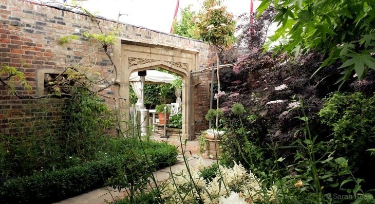 Sarah Rees Roof Gdn6 kensington The secret roof gardens   Kensington