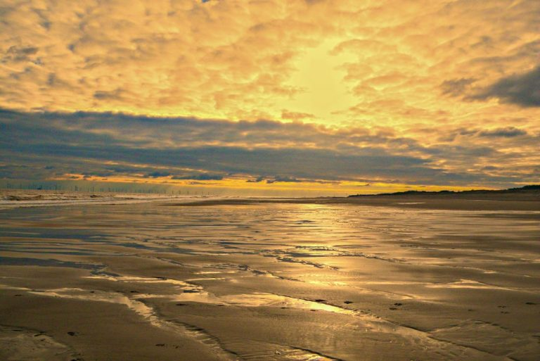 Chapel St Leonards and Six Marshes Beach Walk, Lincolnshire
